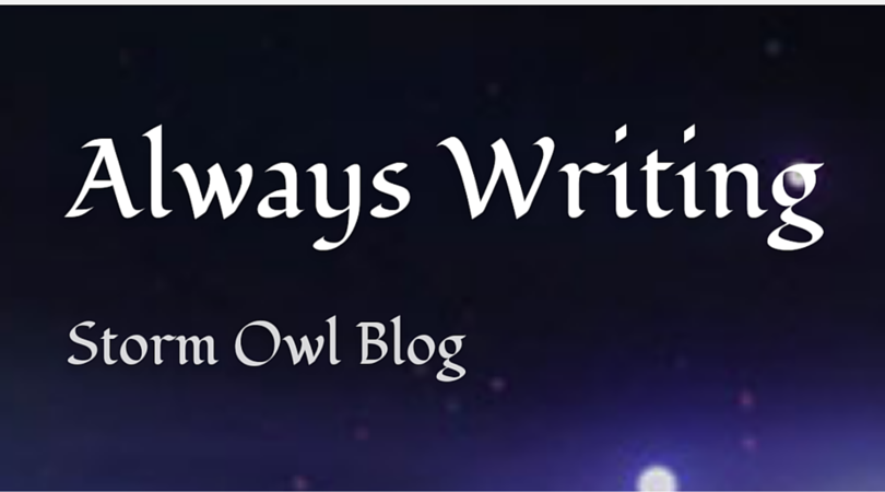 RA Blitz - Always Writing, Storm Owl Blog